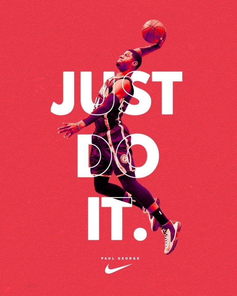 Nike Sport Poster Design zakeydesign.com