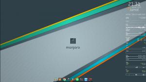Conky on Desktop