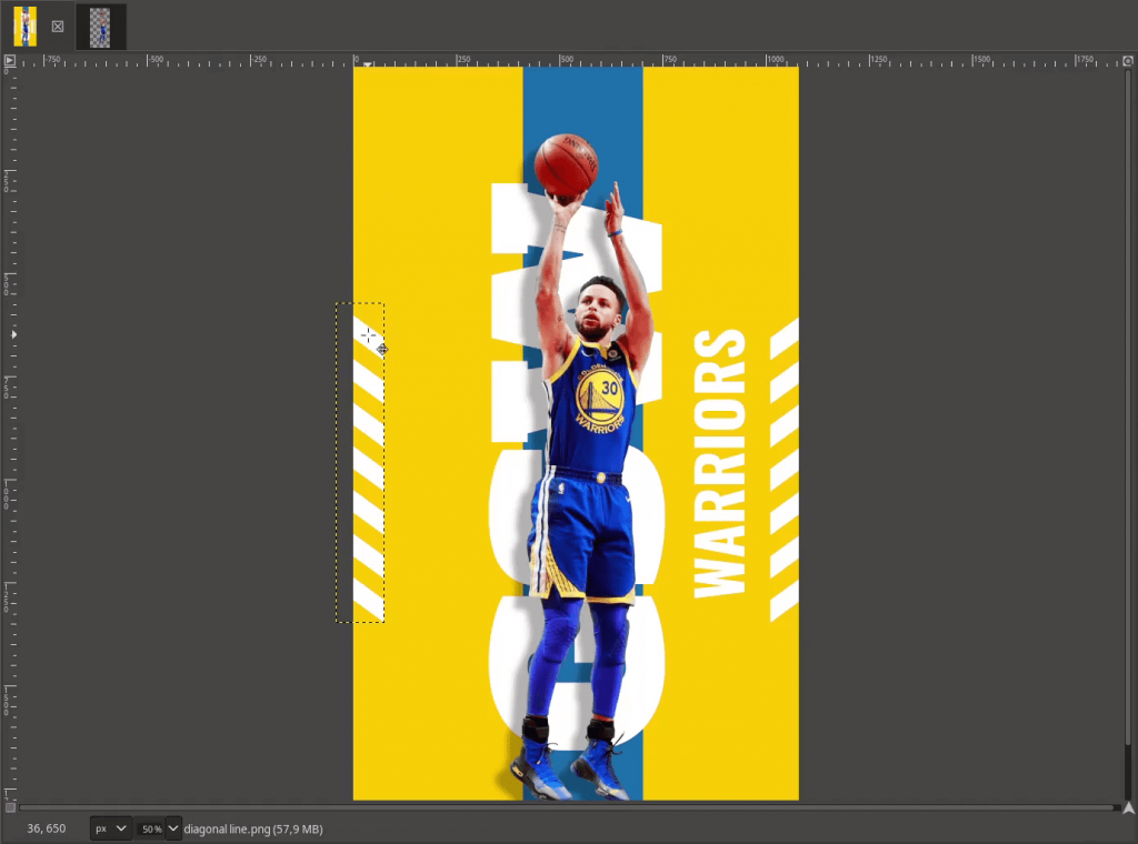 basketball-poster-stephen-curry-step-6-invert