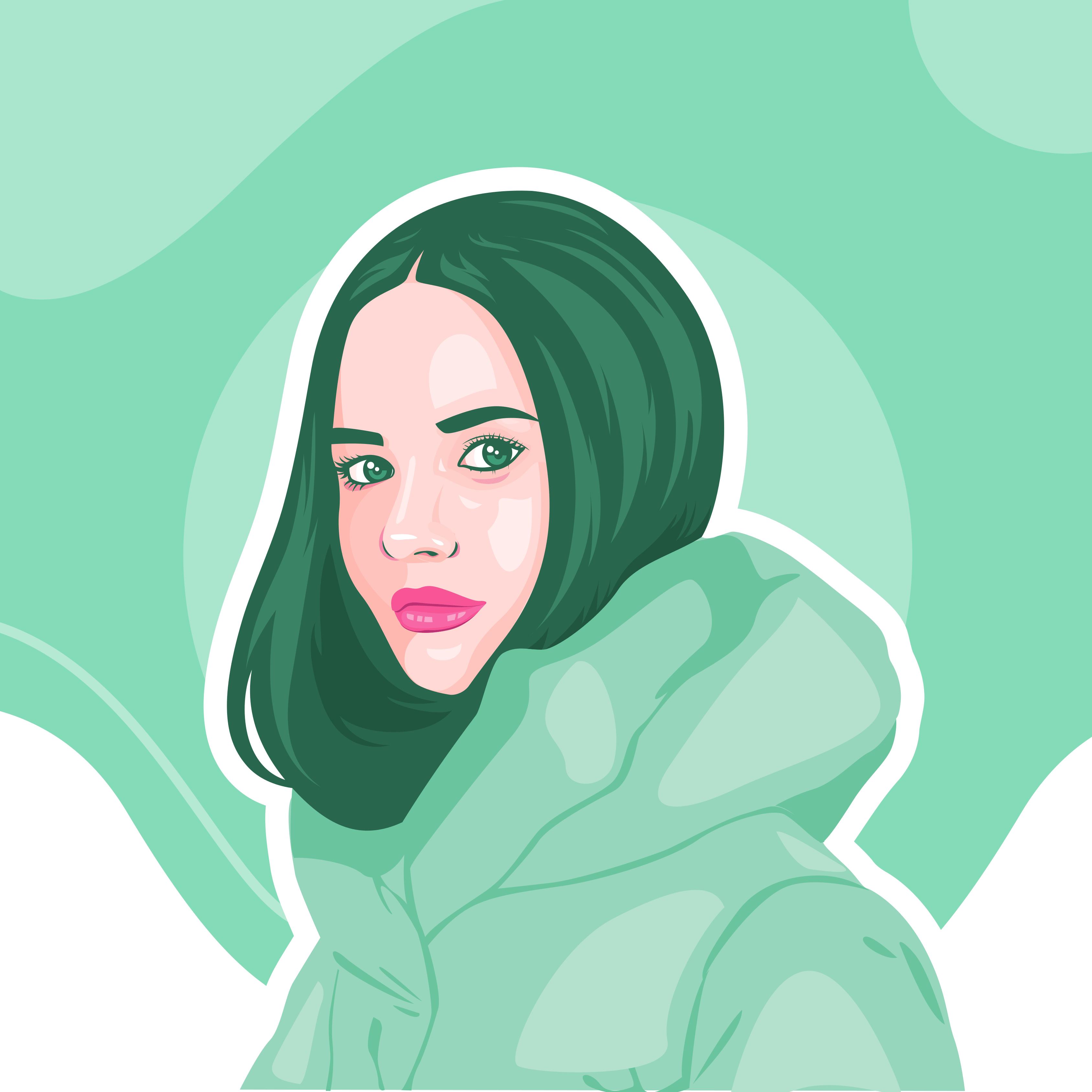 vector_potrait_illustration_zakeydesign.com