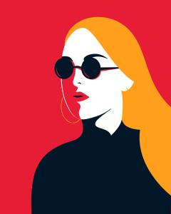 flat-portrait-illustration-zakeydesign.com